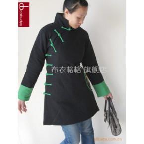 批发 2011秋冬新 原创中式改良修身刺绣旗袍棉衣10552