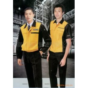 工厂工人服装定做 工作服