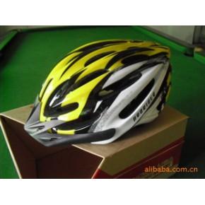 安骑ANQI 自行车头盔 山地车公路车骑行头盔S-5 一体成型头盔