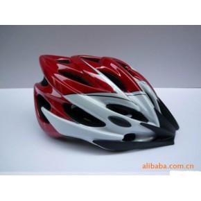 出口行车头盔,山地车公路车一体成型安全头盔