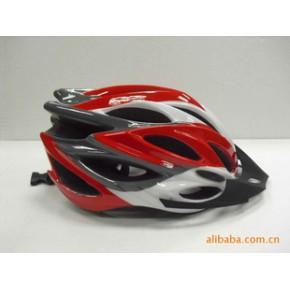 自行车头盔 骑行头盔 公路车山地车头盔 带尾灯自行车头盔 护头