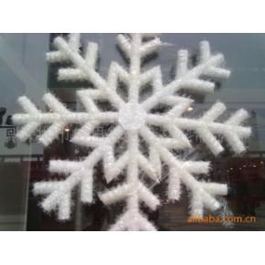 珍珠棉雪花 圣诞雪花泡沫 珍珠棉圣诞雪花