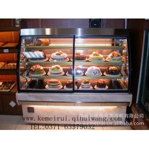 科美瑞弧形蛋糕柜 前开门蛋糕柜 双弧形蛋糕柜