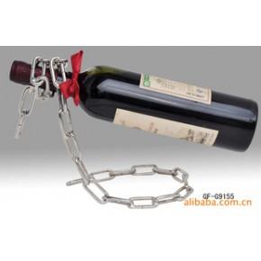 金属工艺制品.链条的随意做出独特的风格让你的红酒更有品味