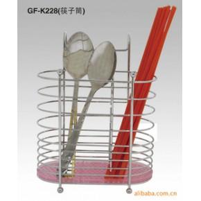 铁线工艺制品的胶底筷子筒易收纳易清洗