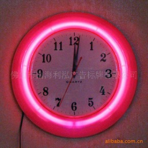 钟表  霓虹钟   专业生产霓虹钟