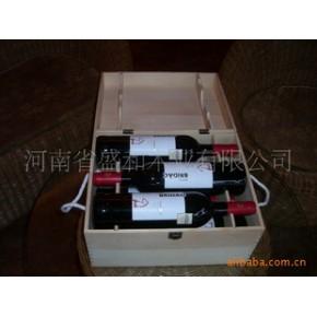 六支装红酒木箱 350 280