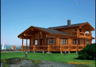 预售木制别墅 实木角木屋 日式木屋