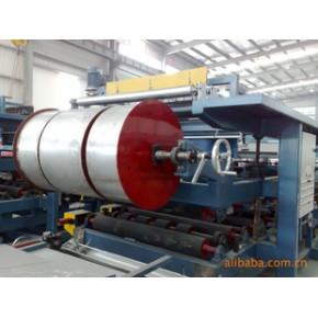 新型建材机械、彩钢复合机生产线