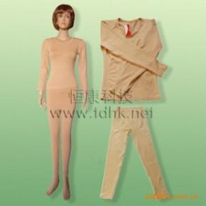贴牌加工保健服饰 保暖内衣 磁疗保暖套服 功能美体套服