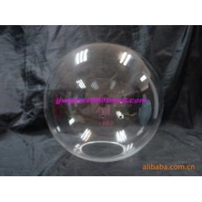 吹制透明清光玻璃球 100