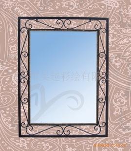 (欧式风格)铁艺家居镜子