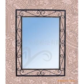 (欧式风格)铁艺家居镜子 礼品工艺品 壁挂镜