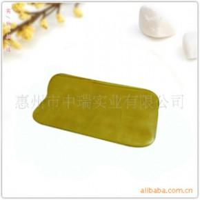 【订做】各种形状规格天然老黄玉刮痧板