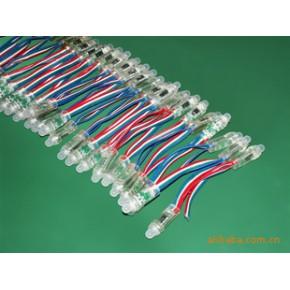 天津:外露LED发光字灯串,七彩外露发光字