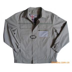 批量定做全棉加厚珠帆格子里布带反光条夹克衫