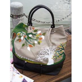 国内原创帆布包,时尚包包,包包批发,花间公主包包