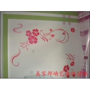 邯郸厂家液体专业艺术壁纸模具施工生产涂料漆壁纸壁纸液体皮阿喏厨柜加盟多少钱图片