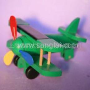 安全 可靠  太阳能双翼飞机 绿色 环保