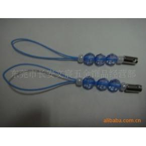 厂家直销串珠手机绳、珠子手机绳挂绳