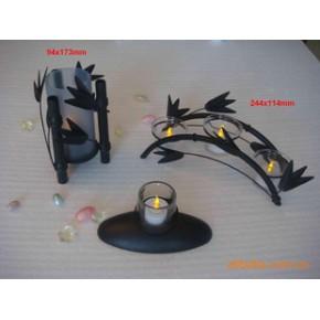 铁艺竹子烛台 器皿 植物