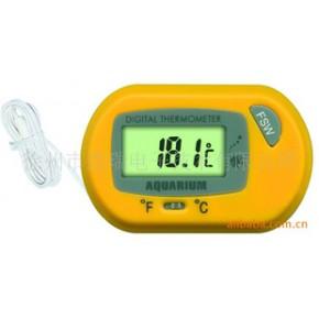 水族箱专用温度计,LCD显示,外观时尚,小巧玲珑