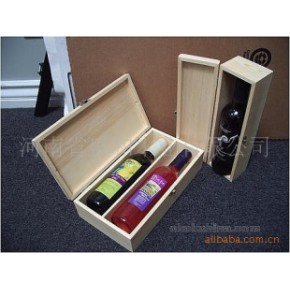 现货供应两瓶装红酒木盒 350