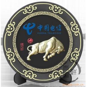 中国电信:通讯行业订做净艺和活性炭雕广告促销礼品
