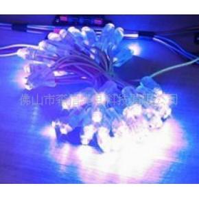 杭州全彩,七彩LED外露发光字灯串