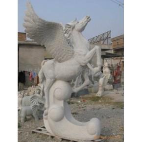 飞马 儿童抱篮 孔雀开屏 大象 机器牛 凤凰 熊猫 狮子 石雕