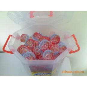 春季旺货果肉果汁果冻(赠促销陈列八角桶)图片