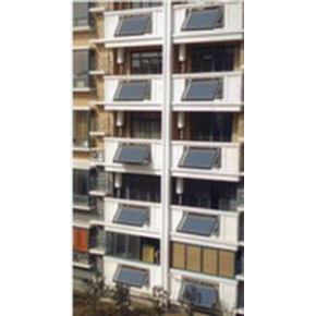 分体平板承压式太阳能热水器