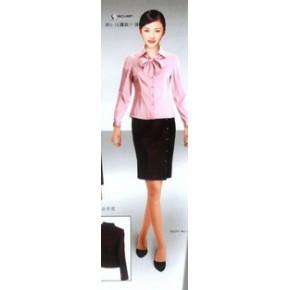 定做精品工服、职业装、时尚女衬衫、酒店服务员服装