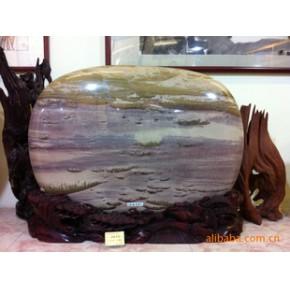 【博翰奇石】长江石,三峡石《渔歌唱晚》