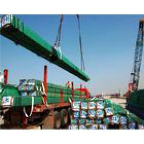 提供钢材的装卸、仓储、配送服务