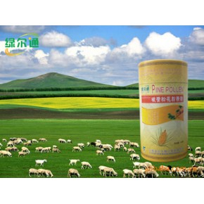 """产品来自""""植物王国""""云南的香格里拉高原生态、无污染松花粉"""