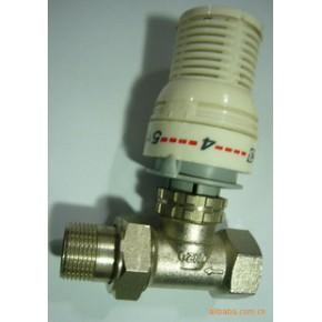 厂价批发温控阀 散热器恒温阀 流量调节阀