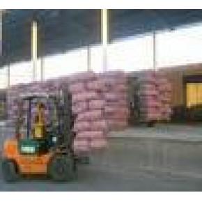 提供农副产品的装卸、仓储、配送