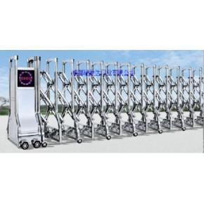 阿坝电动伸缩门供应成都伸缩门代理电动门安装