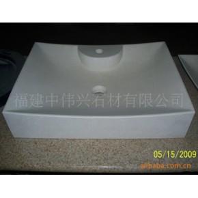 石材洗手盆 天然石材工艺品 手工雕刻 方形洗手盆 洗手盆