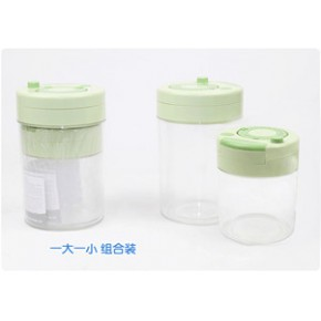 真空罐 食品储存罐 真空保险罐 塑料拉拉罐
