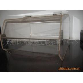 批发超市亚克力食品盒 有机玻璃菱形干果盒