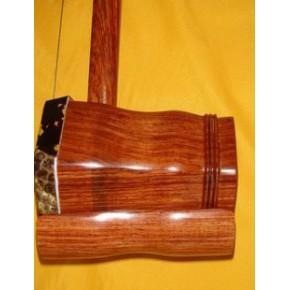 二胡 红酸枝二胡/红木/麻花长轴/带盒/民族乐器