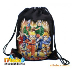动漫抽绳包 环保袋 双肩背包 火影包 迪士尼包 哈利波特包