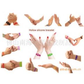 硅胶纹身手链,纹身手环,纹身手腕带,透空手环,橡皮筋手环,手带