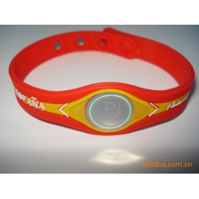 现货供应能量平衡手环/浮雕能量手环/抗辐射能量手环,颜色多