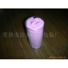 PVC干发毛巾桶 YT0026