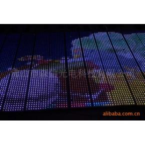武汉;LED全彩户外防水方灯串。