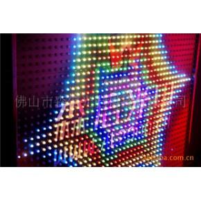 宁波全彩LED高亮度方灯串。高度防水,寿命长
