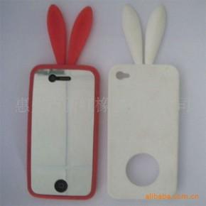 苹果iPhone 4兔形保护套/手机保护套